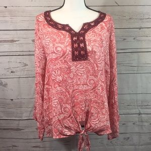 New Directions Boho blouse